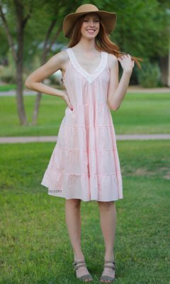 Journey Sleeveless Dress In Pink Sacred Threads Apparel Clothing