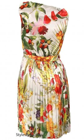 Nitty Sleeveless Como No Ladies Retro Dress In Fun Colors
