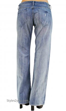 Sweetie Low Rider With Relaxed Leg Jean