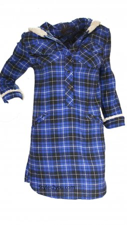 Raven Flannel Tunic