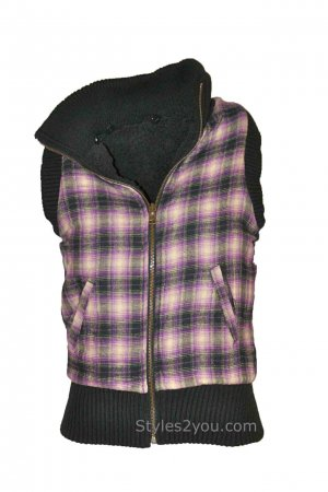 Jack Ladies Reversible Vest With Removable Hood