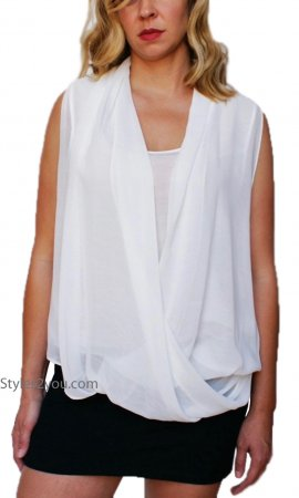 Adalyn Blouse In Off White  JOH Clothing JOH Apparel Top