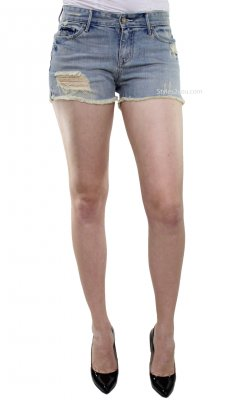 Bonnie Jean Shorts Cutoff Shorts Washed Out Denim Sutters Shorts