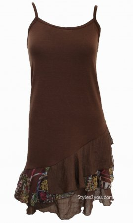 Colette Hope Two Piece Knit Top In Coffee My Pretty Angel Dress