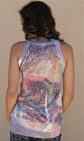 Chakra Top With Crystals