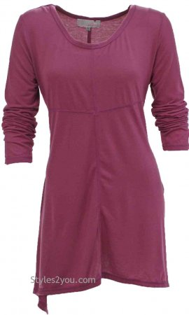Betsy Tunic In Burgundy