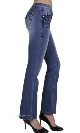 Bali Embellished Bootcut Denim Jeans With Stretch YMI Jeans