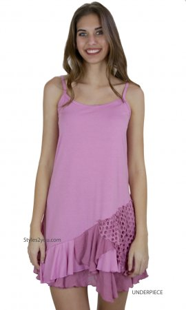 Colette Two Piece Knit Top In Pinks