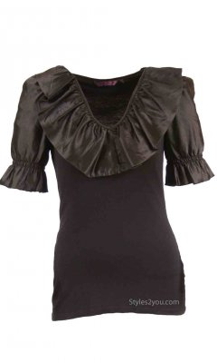 Brooklyn Blouse In Black