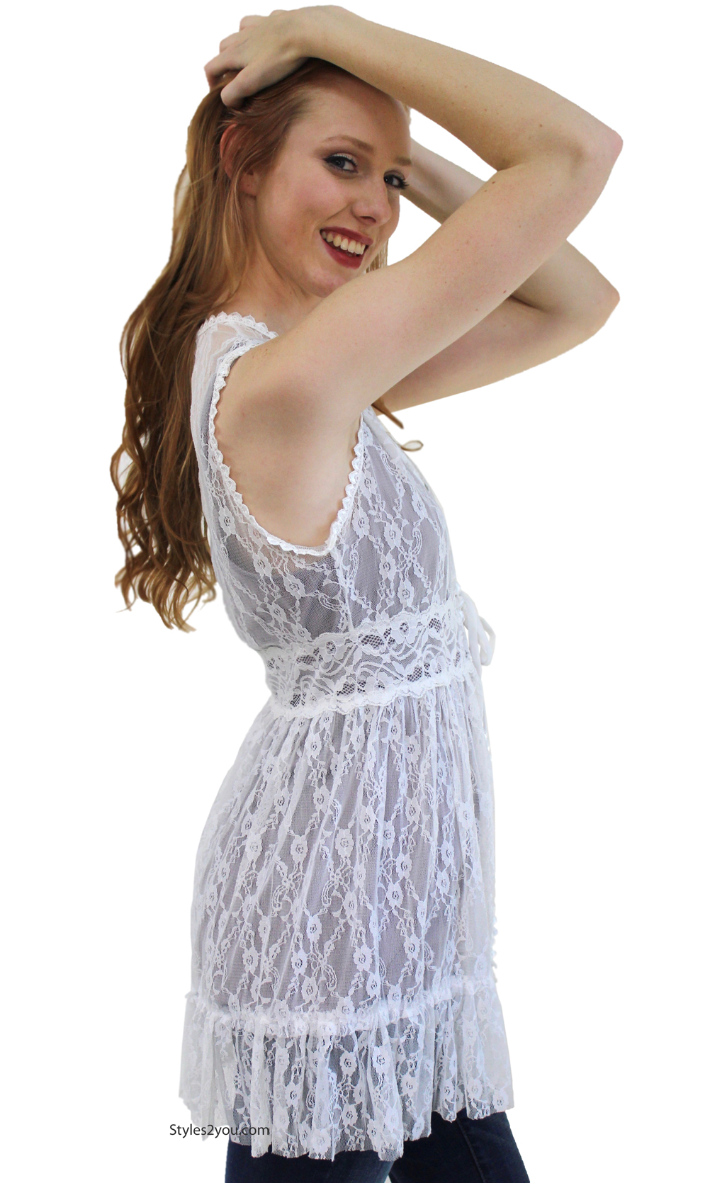 Buy low price, high quality crochet lace vest with worldwide shipping on techclux.gq
