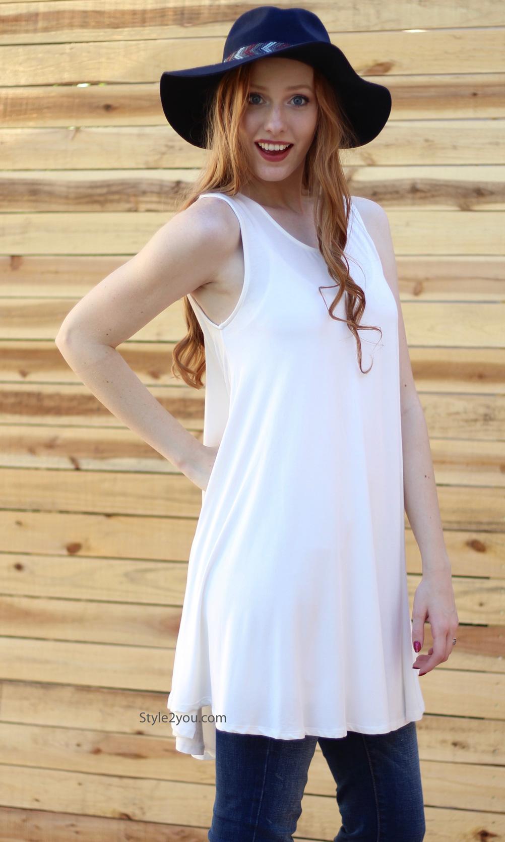 e374f2ac813bb Ethel Basic Sleeveless Bohemian Shirt Dress Cream Sacred Threads My ...