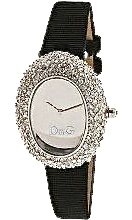 D&G Dolce & Gabbana Women's Ribbed Fabric Music Watch